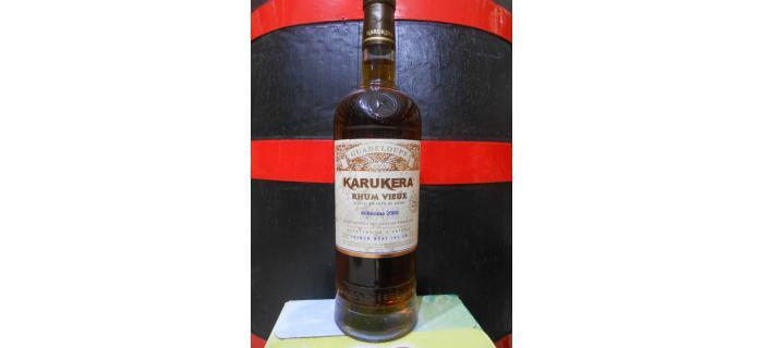 Rhum vieux et ambré Karukera